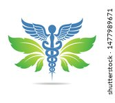 medical symbol created using... | Shutterstock .eps vector #1477989671