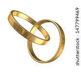 3d illustrations of rings | Shutterstock . vector #147799469