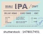 vintage minimal label. set of... | Shutterstock .eps vector #1478017451