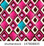 seamless pattern drawn with a...