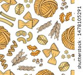 vector seamless pattern with... | Shutterstock .eps vector #1478105291