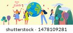 set of people use recycle bag...   Shutterstock .eps vector #1478109281