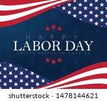 happy labor day vector... | Shutterstock .eps vector #1478144621