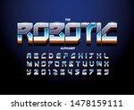 vector of stylized modern font... | Shutterstock .eps vector #1478159111