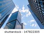Skyscrapers In Manhattan  New...
