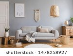 Design Bohemian Composition Of...