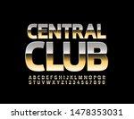 vector golden emblem central... | Shutterstock .eps vector #1478353031