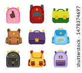 vector collection of... | Shutterstock .eps vector #1478374697