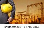 engineer yellow helmet for... | Shutterstock . vector #147839861