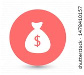 money bag vector icon . lorem...