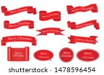 red realistic detailed curved... | Shutterstock .eps vector #1478596454