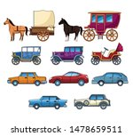 vintages classec and modern... | Shutterstock .eps vector #1478659511