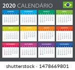 vector template of color 2020... | Shutterstock .eps vector #1478669801