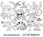 set collection bundle of... | Shutterstock .eps vector #1478788094