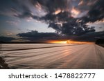 long exposure of a sunset with... | Shutterstock . vector #1478822777