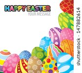 vector illustration of easter... | Shutterstock .eps vector #147882614