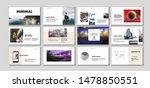 set of business presentation... | Shutterstock .eps vector #1478850551