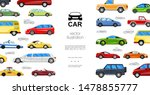 flat colorful automobiles... | Shutterstock .eps vector #1478855777