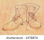 Illustration Of Boots