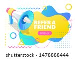 refer a friend poster  banner...