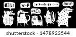 talking scandinavian style... | Shutterstock . vector #1478923544
