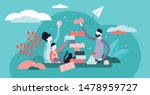 family play vector illustration.... | Shutterstock .eps vector #1478959727