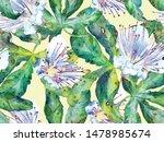 bold flower pattern. big...   Shutterstock . vector #1478985674