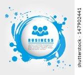 business design over gray...   Shutterstock .eps vector #147902441