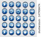 arrow icon | Shutterstock .eps vector #147908474