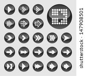arrow icons for web