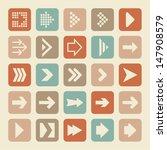 arrow pictogram