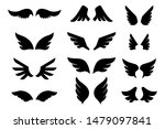 set of the wing icons. design... | Shutterstock .eps vector #1479097841