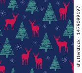 holiday pattern depicting the... | Shutterstock . vector #1479099197