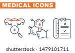 medical vector icons set  sign... | Shutterstock .eps vector #1479101711