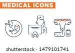 medical vector icons set  sign... | Shutterstock .eps vector #1479101741