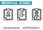 thin lines web icon set  ... | Shutterstock .eps vector #1479105641