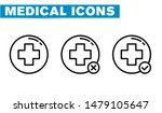 thin lines web icon set  ... | Shutterstock .eps vector #1479105647