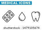 thin lines web icon set  ... | Shutterstock .eps vector #1479105674
