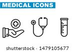 thin lines web icon set  ... | Shutterstock .eps vector #1479105677