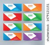 vector abstract banners... | Shutterstock .eps vector #1479121151