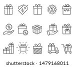set of gift box icons  such as... | Shutterstock .eps vector #1479168011