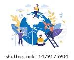 bright flyer business green... | Shutterstock .eps vector #1479175904