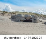 Bunkers At Sondervig Beach In A ...