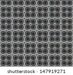 vector circle metal pattern... | Shutterstock .eps vector #147919271