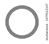 black and white greek ornate... | Shutterstock .eps vector #1479212147