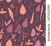 vector seamless pattern with... | Shutterstock .eps vector #147921395
