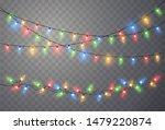 christmas lights. xmas string ... | Shutterstock .eps vector #1479220874