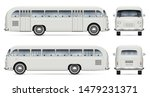 retro bus vector mockup on... | Shutterstock .eps vector #1479231371
