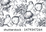 vector seamless pattern with... | Shutterstock .eps vector #1479347264