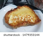 Stock photo cornbread with butter and northern curd cheese 1479353144